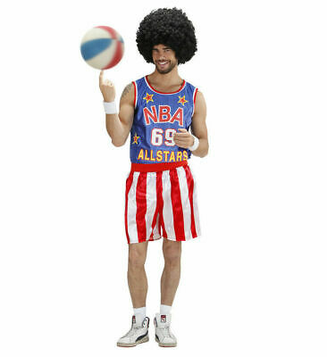 £19.99 • Buy USA Basketball Player Fancy Dress Costume - NBA Sports Globetrotters Mens Outfit