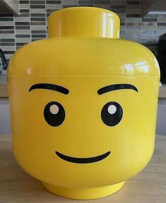 £11 • Buy Lego Large Boy Storage Head Storage Box Lego Container Excellent Used Condition