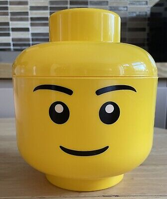 £7 • Buy Lego Small Boy Storage Head Storage Box Lego Container Excellent Used Condition