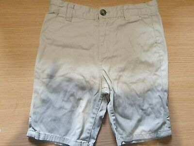 £2 • Buy Denim Co Boys 100% Cotton Stone Coloured Chino Style Shorts Age 9-10 Years