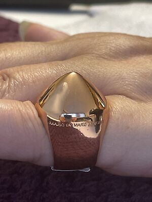 £20 • Buy Beautiful Marc Jacobs Ring. Unworn Rose Gold Coloured, Size J/ K Only 1 On EBay