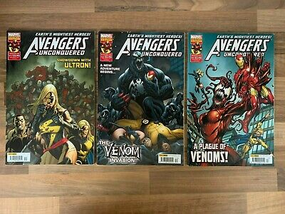 £4.47 • Buy AVENGERS UNCONQUERED #11 To #13 2010 Marvel Comics Collectors Edition