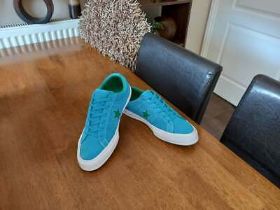 £24.99 • Buy Converse All Star 70 Blue Suede Leather Lows Size Uk 7 Euro 40