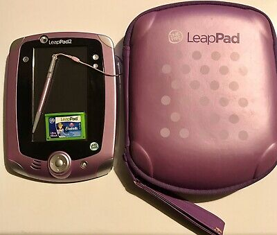 £34.99 • Buy Purple Leap Frog Leap Pad 2 Explorer Tablet, Stylus, Carry Case And 4 Games