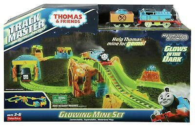 £29.99 • Buy Fisher-price Thomas & Friends Trackmaster Glowing Mine Set New