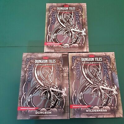 AU65 • Buy Wizards Of The Coast Dungeons & Dragons 5E 3 Dungeon Tile Reincarnated Sets