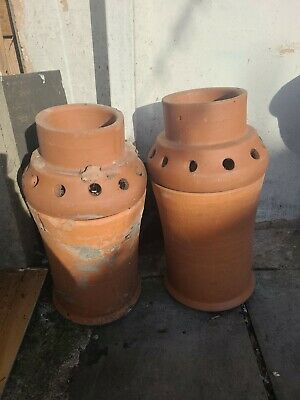 £40 • Buy Chimney Pots With Cowls X2