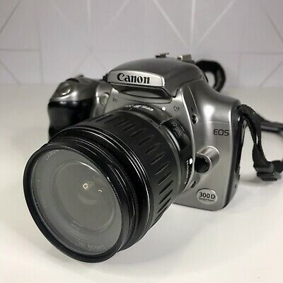 £34.99 • Buy Canon EOS Digital Rebel DS6041 300D SLR Camera - No Charger UNTESTED