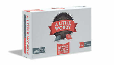 AU33.95 • Buy Exploding Kittens A Little Wordy Board Game, Family Friend Card Games, Max. 2...
