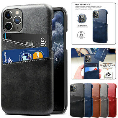 AU12.99 • Buy For IPhone 13 12 Mini 11 Pro Max XS XR SE 8 Plus Case Leather Wallet Card Cover