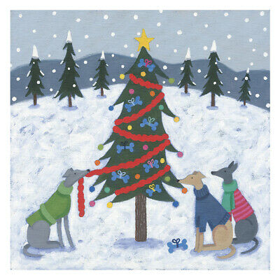 £6.50 • Buy Just Whippets Rescue Christmas Cards 2021
