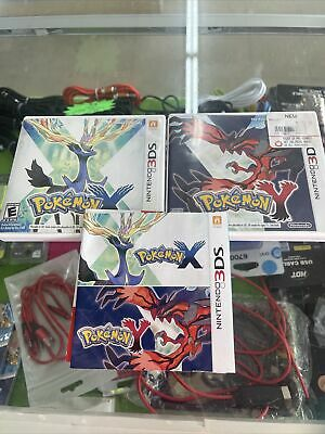 $21.95 • Buy 3ds Pokemon X And Pokemon Y CASES & 1 INSERT ONLY - No Games