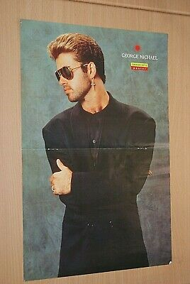 £3.49 • Buy GEORGE MICHAEL Band Large A3 Size Glossy Magazine Music Promo ART Poster