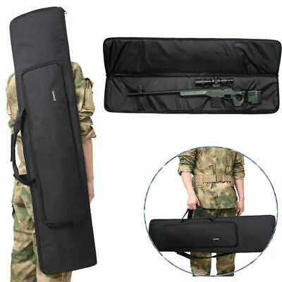 £22.99 • Buy Waterproof Tactical Hunting Padded Carry Air Rifle Airsoft Double Gun Bag Case