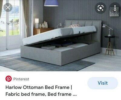 £400 • Buy Harlow Electric King Size Ottoman Bed Frame