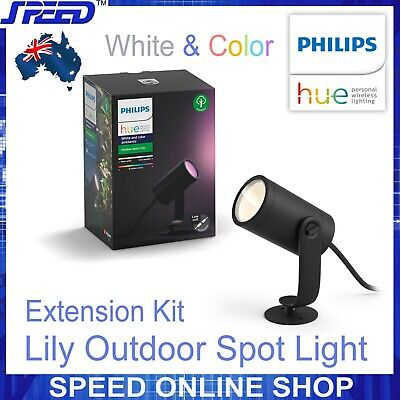 AU159 • Buy Philips Hue White & Color Ambiance Lily Outdoor Spot Light - Extension Kit
