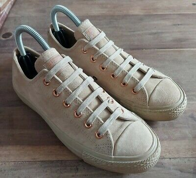 £22 • Buy Converse All Star Vintage Kahki / Beige Rose Gold Suede Size 5 Trainers