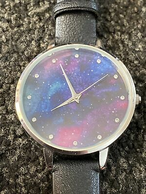 £4.99 • Buy New Look Accessories Watch - Outer Space/Galaxy Background