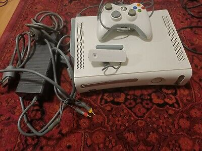 AU110 • Buy Xbox 360 Console White 60gb - Used - Complete - With Wireless Networking Adapter
