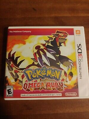 $14.95 • Buy Pokemon Omega Ruby -Original Case With Insert -NO GAME - Fast Shipping Authentic