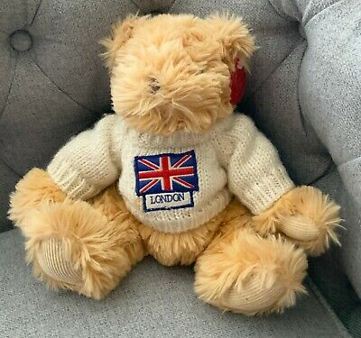 £4.95 • Buy Small Keel Simply Soft Collection London Plush Soft Toy Bear Vgc