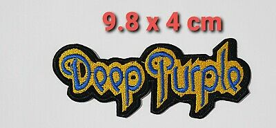 £1.99 • Buy Deep Purple English Rock Band Embroidered Iron On Sew On Patch