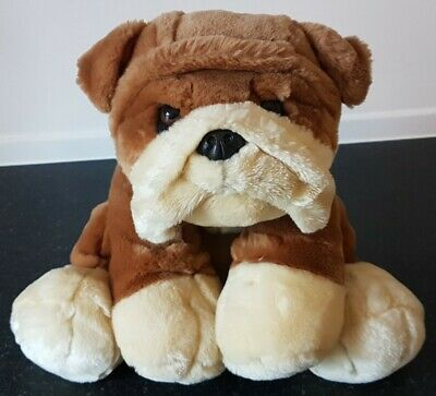 £0.99 • Buy Buster The Bull Dog Simply Soft Collection Keel Toys 18cm