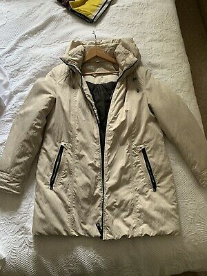 £25 • Buy Ladies Coat Size 14 Cream Cotswold Collections