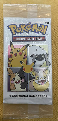 $5.99 • Buy SEALED 25th Anniversary General Mills Pokemon Cereal 3 Card Booster Packs Cards