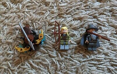 £6.50 • Buy Lego Lord Of The Rings Legolas And Gandalf The Grey Figures