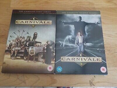 £5.99 • Buy Carnivale DVDs, The Complete First And Second Series.