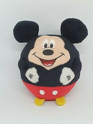 £3.99 • Buy Official Disney Mickey Mouse Beanie Ballz Ball Soft Toy Plush TY Small