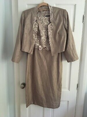 £25 • Buy Wimans Dress And Jacket Size 12 By Roman Sunning Worn Once