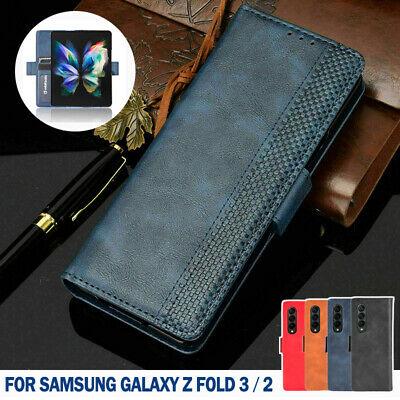 AU18.99 • Buy For Samsung Galaxy Z Fold 3 2 5G Luxury Case Magnetic Leather Wallet Flip Cover