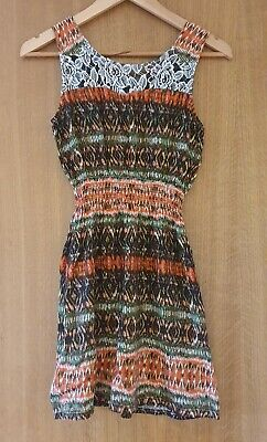 £2.50 • Buy Hearts And Bows Tie-dye Minidress Size 10