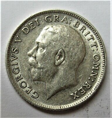 £4.99 • Buy Sixpence Coin George V  Dated 1918