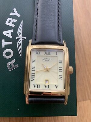 £45 • Buy Rotary Art Deco Tank Style Watch Screw Down Case Back And Crown