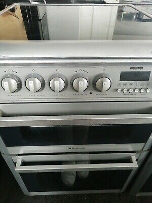 £140 • Buy Hotpoint Ultima HUE61GS Graphite 60cm Double Oven Electric Cooker