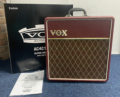 £269 • Buy Vox AC4C1-12 4 Watts Valve Guitar Amplifier Boxed Instructions BB701ZZBO6L5F