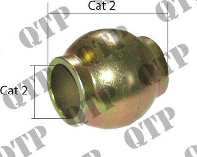 £7.95 • Buy Ford / New Holland / Massey Ferguson Tractor Quick Hitch Top Link Ball. (Cat 2)