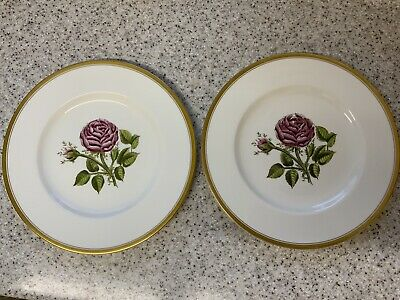 £10 • Buy Royal Worcester China Plates A.H. Williamson  X2
