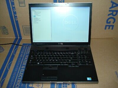 £36.30 • Buy Dell Precision M6500 17  Core I5-M520 2.4GHz 4GB No HDD Bad Battery #3