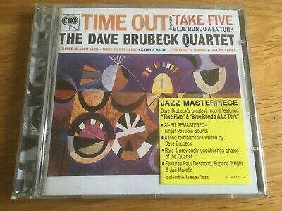 £1.99 • Buy THE DAVE BRUBECK QUARTET - TIME OUT CD Remastered  JAZZ .. Best
