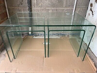 £10 • Buy Glass Nest Of Tables