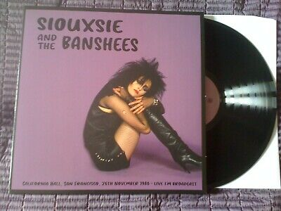 £10.50 • Buy SIOUXSIE AND THE BANSHEES - Live In San Francisco, November 1980 LP BLACK Vinyl