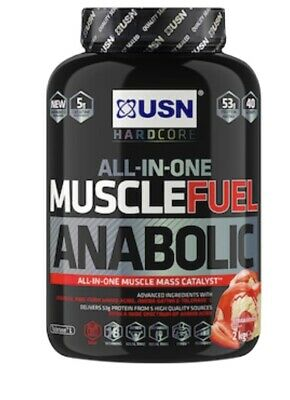 £27.90 • Buy Muscle Fuel Anabolic All In One Muscle Building Protein Shake With Creatine,