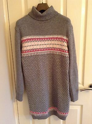 £43.99 • Buy French Connection Fast Florence Fairisle Dress, Size 10 (bnwt)