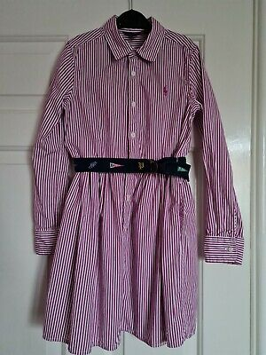 £9.50 • Buy Ralph Lauren Polo Girls Long Sleeved Dress Age 7 In Excellent Condition