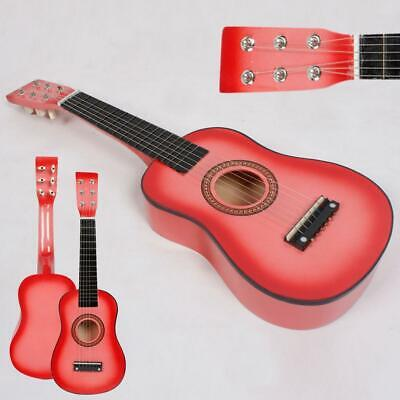 £10.99 • Buy New 23  Acoustic Guitar 6 String Right Handed For Kids Children Gift Pink