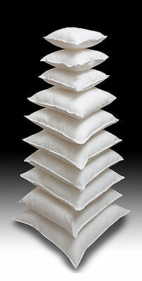 £25.99 • Buy Extra Filled New Feather Cushion Pads Inners Scatter Fillers Inserts 12  To 24